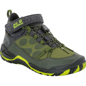 Jack Wolfskin Jungle Gym Texapore Mid Shoes Kinder gorilla